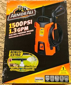 ArmorAll Pressure Washer 1500 PSI 1.3 GPM - Brand New - Sealed Box