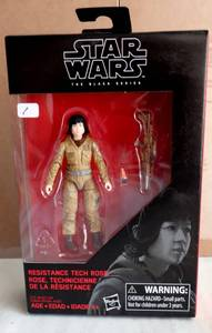 STAR WARS - THE BLACK SERIES - RESISTANCE TECH ROSE - NIB