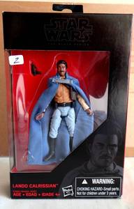 STAR WARS - THE BLACK SERIES - LANDO CALRISSIAN - NIB