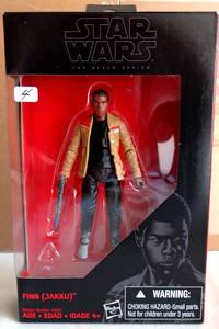 STAR WARS - THE BLACK SERIES - FINN (JAKKU) - NIB