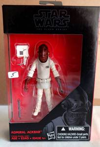 STAR WARS - THE BLACK SERIES - ADMIRAL AKBAR - NIB