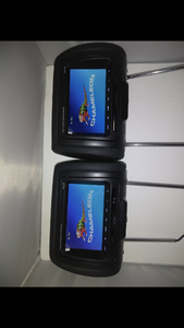 2 CHAMELEON CLD-700 7' LED MONITORS WITH BUILT IN DVD PLAYERS