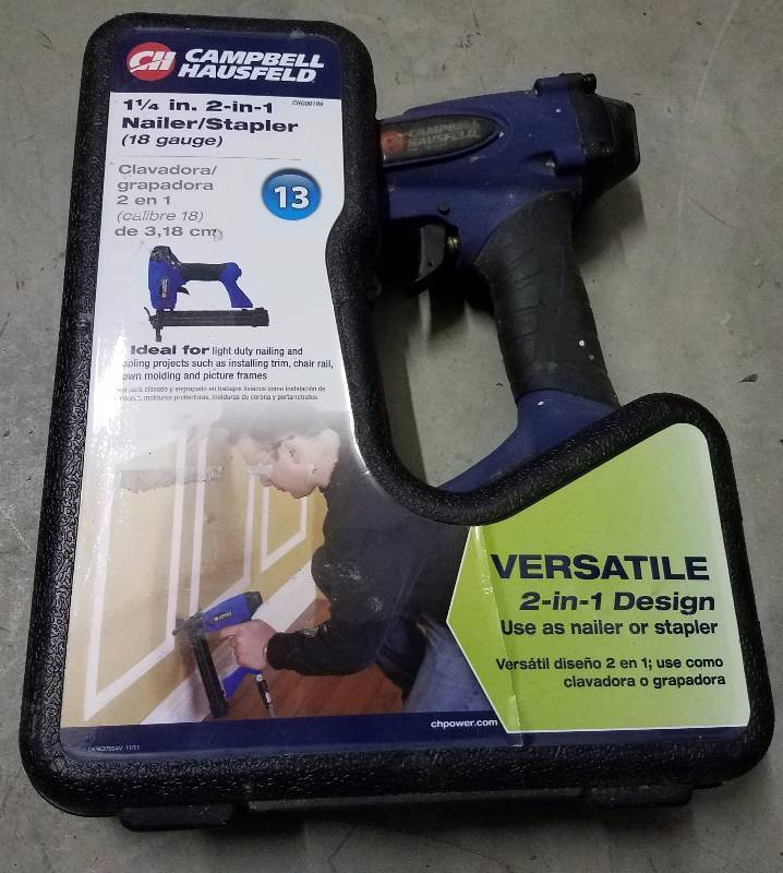 campbell hausfeld 2 in 1 nailer stapler manual