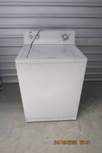 WHIRLPOOL INGLIS CLOTHES WASHER, HVY DUTY, SUPER CAPACITY 8 CYCLE 2 SPEED