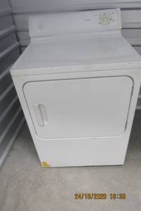 HOT POINT CLOTHES DRYER- HEAVY DUTY, LARGE CAPACITY, 3 CYCLE