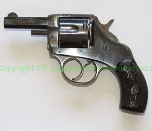 "Vintage H & R Arms company ""The American"" double action revolver .38 caliber. In good condition"