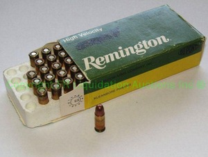 Remington .25 automatic pistol ammunition 44 rounds