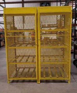 Propane Tank Safety Cage