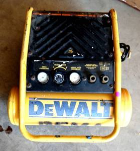 DeWalt Portable Air Compressor. Powers On.