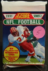 1991 Score Series 2 Football Cards  – Brett Favre RC?