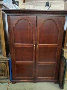 "Armoire with Fold Down Desk Inside (50""x24""x67"" Approx)"