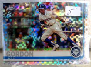$$$ 2019 Topps Chrome Dee Gordon #196 Prizim Refractor parallel