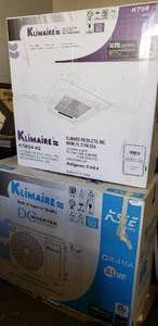 Klimaire Split Type Air Conditioner Unit (Still in Box)