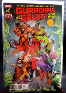 FIRST EDITION - Guardians of the Galaxy Mother Entropy (2017 Marvel TPB) Collects Series $10+