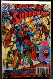 The Adventures of Superman, #460, DC Comic,1989, High Grade