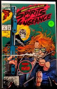 Ghost Rider/Blaze: Spirits of Vengeance #2 (Marvel Comics, September 1992) - $8+
