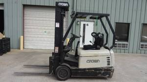 Crown Electric Forklift, SC 4000 Series, WORKS!