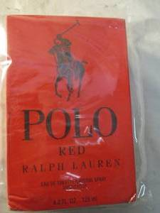 Ralph Lauren Polo RED Men's Cologne 4.2 oz. Large Size, Sealed, Never Opened.