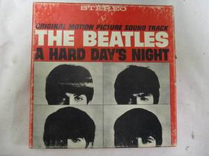 "The Beatles ""A Hard Day's Night""-Original Motion Picture Sound Track,  Reel-to-Reel Tape"