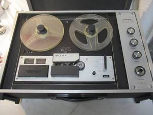 Vintage- SONY Solid State Stereo Reel-to-Reel Tape Plyer/Recorder Model TC-260