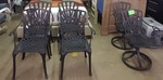 Outdoor Swivel/ Dining Chairs