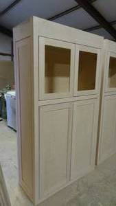 "Beautiful Stain Grade Maple Cabinet 77 1/4"" x 42 1/4"" x 6 1/4"""