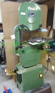 "Central Machinery 14"" wood cutting band saw"