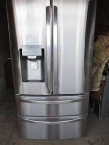 LG- 28-Cu ft. SMART, French Door Refrigerator, With Lower- 2 separate freezer drawers, Model LMXS28626s/04,