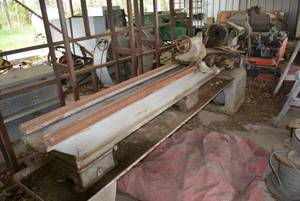 South Bend Machining Lathe, 11 Feet Long,  (VERY LARGE, VERY HEAVY)