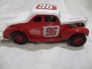 ERTL #96DUTCH HOAG 1940 Ford Modified Coupe Diecast Metal Vehicle. 1/25 scale.