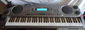 Casio WK-1630 76-Note Touch-Sensitive Portable Electronic Keyboard - Amazing Sound