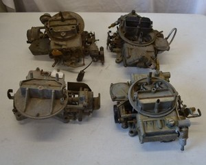 2 Holley Carburetors and 2