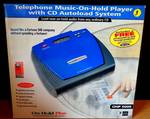 VINTAGE SEALED BOX - On-Hold Plus OHP 5000 Audio Player/Recorder CD System