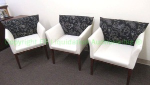 Kimball Office ARPEGGIO pillow back side chairs (Bid is times the quantity)