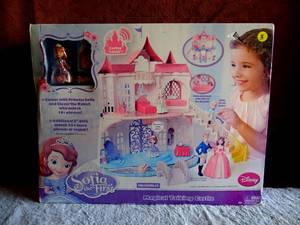 RARE Disney Sofia the First Magical Talking Castle Playset lot - SEE COMPS $$$