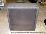 "VINTAGE 18"" CGM BASS GUITAR SPEAKER CABINET WOOFER"